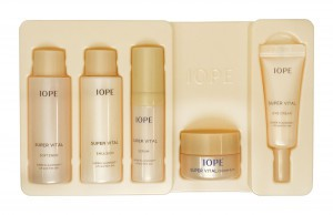 IOPE Super Vital Special Gift Rich Set (5items)