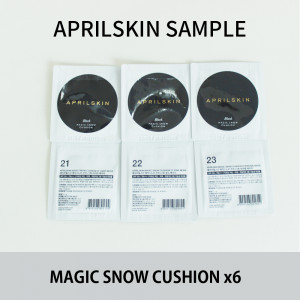 april skin magic snow cuhion Sample