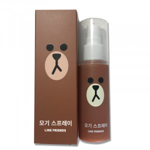 EVERAID Line Friends Mosquito Spray 50ml
