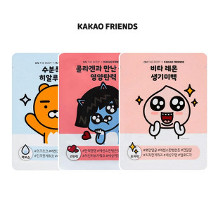 ON THE BODY X KAKAO FRIENDS Mask Pack 25g*1ea