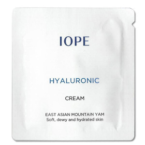 Крем с гиалуроновой кислотой (10 пробников) Iope Hyaluronic cream 1ml*10ea