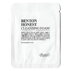 Очищающая пенка Benton Honest cleansing foam 1ml*10 шт