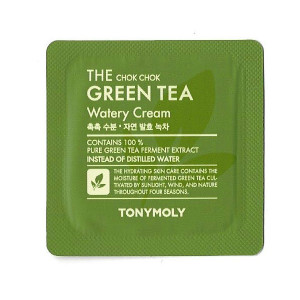 Tony Moly The Chok Chok Green Tea Watery Cream 1ml*10ea