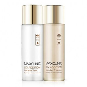 MAXCLINIC Lux addition intensive toner+emulsion 150ml/150ml