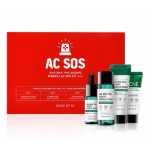 Набор  для проблемной кожи SOME BY MI AHA.BHA.PHA 30 days Miracle AC SOS KIT