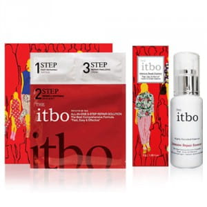 THE it bo 3-Step Repair Solutions Mask 4ea (1Box) + Intensive Repair Essence 50ml