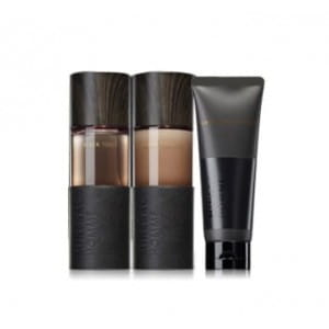 THE SAEM Mineral Homme Black Set [Toner+Emulsion+Cleaning From]