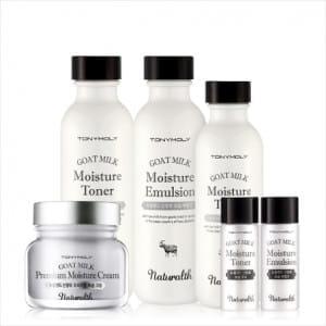 TONY MOLY Naturalth Goat Milk Premium Skin Care Set