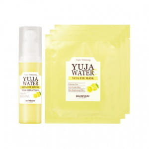 SKINFOOD Yuja Water C Vita Eye Serum Set