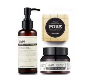 KLAIRS Gentle Black Box 3items [For Pore clean]