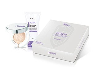 TROIAREUKE ACSEN Protection Kit ( ACSEN Cushion + ACSEN UV Essence)