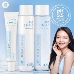 SCINIC The Simple Skincare 3item set