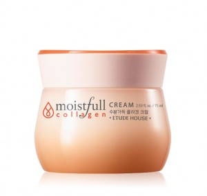 Крем для восстановления кожи Etude House Moistfull collagen cream 75ml