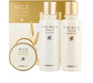 THE FACE SHOP Rice&Ceramide Special Set 150ml+150ml+45ml