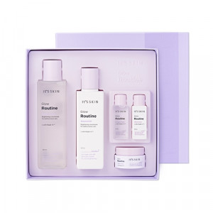 IT'S SKIN Glow Routine Special Set 200ml + 150ml + 22ml*2 + 18ml