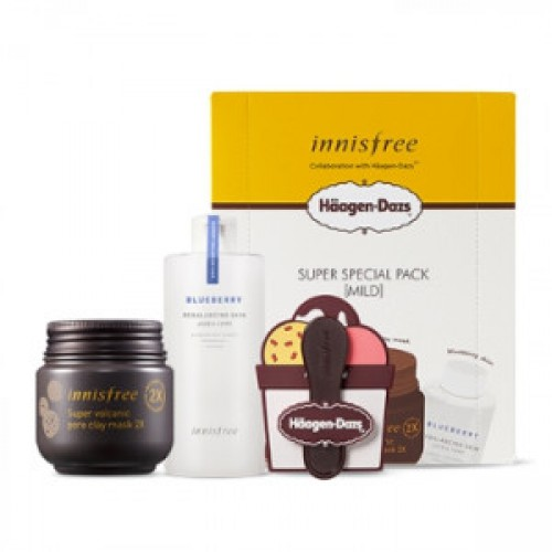 INNISFREE Super Special Pack X Haagen-Dazs [Mild] Set