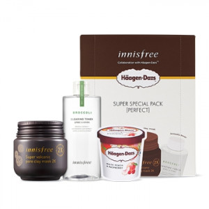 INNISFREE Super Special Pack X Haagen-Dazs [Perfect] set