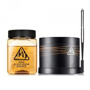 Комплект омолаживающих средств NEOGEN Code 9 Gold black caviar essence & gold tox tightening pack 250ml+25p