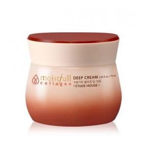 Коллагеновый глубоко увлажняющий крем Etude House Moistfull collagen deep cream 75ml