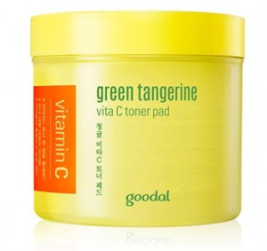 GOODAL Green Tangerine Vita C Toner Pad 70sheets