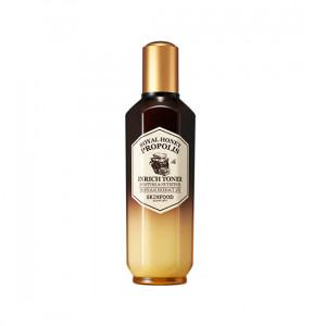 Тонер с экстрактом прополиса и меда Skinfood Royal honey propolis enrich essence 50ml