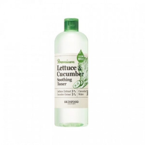 SKINFOOD Premium Lettuce&Cucumber Soothing Toner 500ml