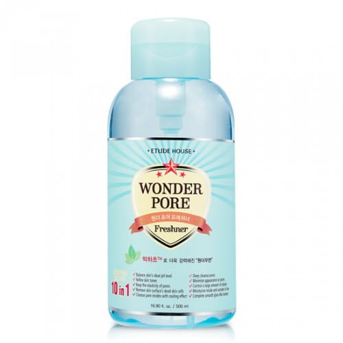 Освежающий тоник Etude House Wonder pore freshner 10 in1 500ml