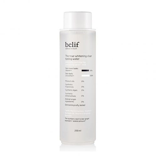 BELIF The True Whitening Clear Toning Water 200ml