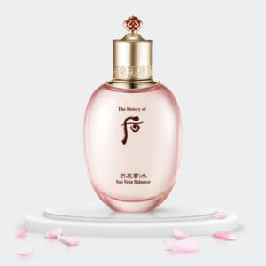 The history of Whoo Gongjinhyang:Soo Soo Yeon Balancer 150ml