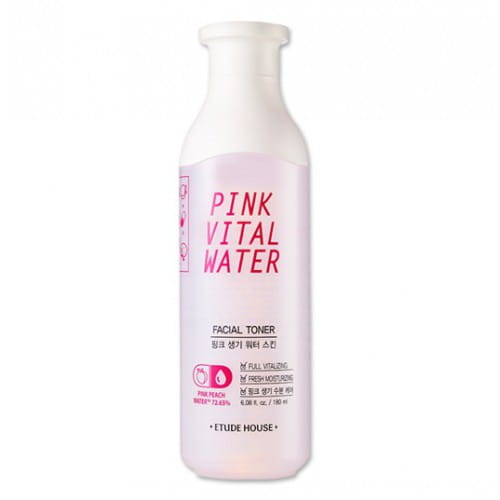 ETUDE HOUSE Pink Vital Water Skin 180ml