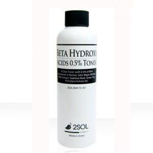 2SOL Beta Hydroxy Acids 0.5% Toner 200ml