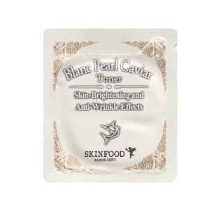 Тонер Skinfood Blanc Pearl Caviar Toner 1 ml*10ea.