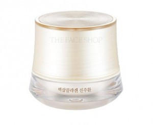 THE FACE SHOP Yewhadam white ginseng collagen pearl Pill 50g