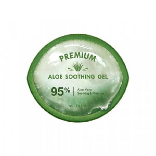 Универсальный гель для кожи с алоэ Missha Premium aloe soothing gel 300ml