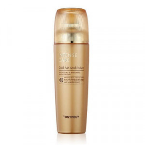 Улиточная эмульсия Tony Moly Intense care gold 24k snail emulsion 140ml