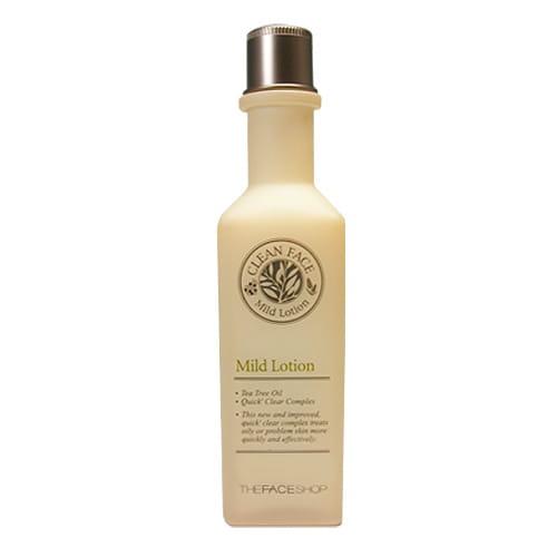 Лосьон-молочко для кожи лица  The Face Shop Clean Face Mild Lotion 130ml