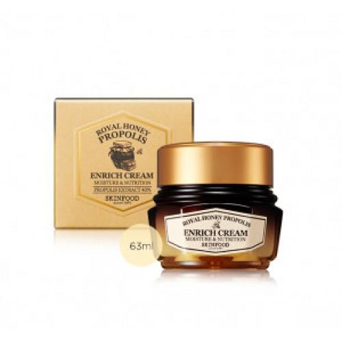 Питательный крем Skinfood Royal honey propolis enrich cream 63ml