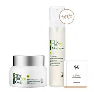 Leegeehaam Tea Tree 80 Cream 50ml+gift