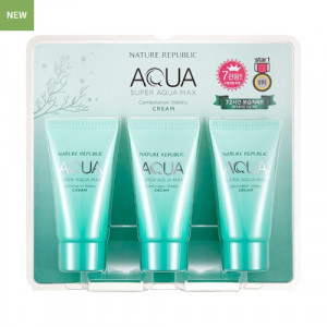 NATURE REPUBLIC Super Aqua Max Combination Watery Cream 50ml*3ea