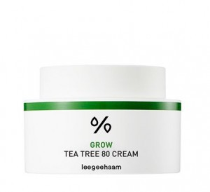 Leegeehaam Grow Tea Tree 80 Cream 50ml