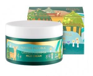 NATURE REPUBLIC Green Hoilday Green Derma Mild Cream 190ml