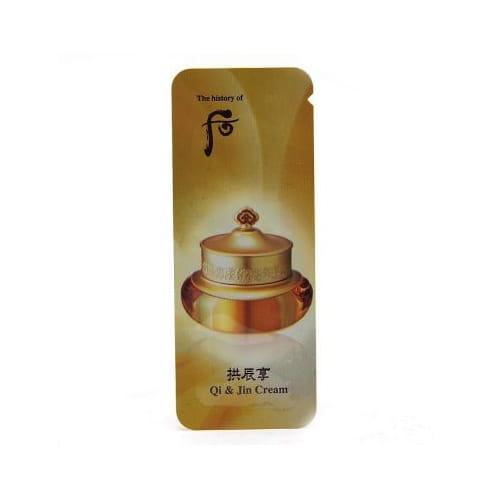 Питательный крем для лица Whoo Qi & Jin Cream 1ml*10ea