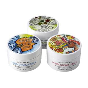 Крем питательный для рук и лица NATURE REPUBLIC 3 Type Steam cream 100ml