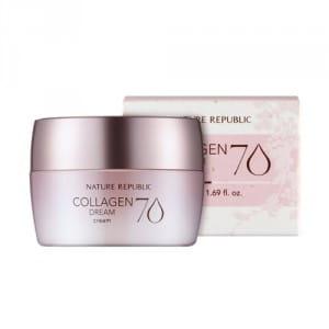 Крем с морским коллагеном Nature Republic Collagen Dream 70 Cream 50ml