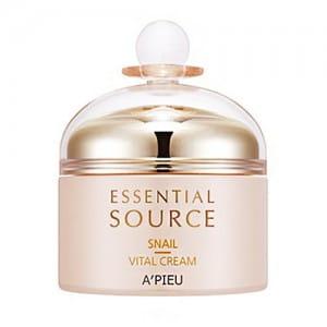 A'PIEU Essential Source Snail Vital Finish Cream 50ml