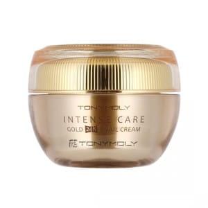 Антивозрастной крем с частичками золота и фильтратом слизи улитки Tony Moly Intense Care Gold 24K Snail Cream 45ml