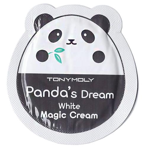 Осветляющий крем Tony Moly Panda`s dream white magic cream 1ml*10ea