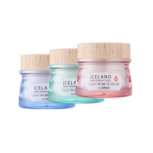 Крем для лица с ледниковой водойThe Saem Iceland water volume cream 80ml