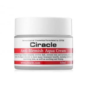 Успокаивающий крем для проблемной кожи лица Ciracle Anti-Blemish Aqua Cream 50ml