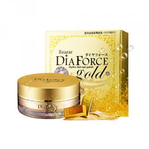 Гидрогелевые патчи Rearar Diaforce hydro gel eye patch gold 60ea